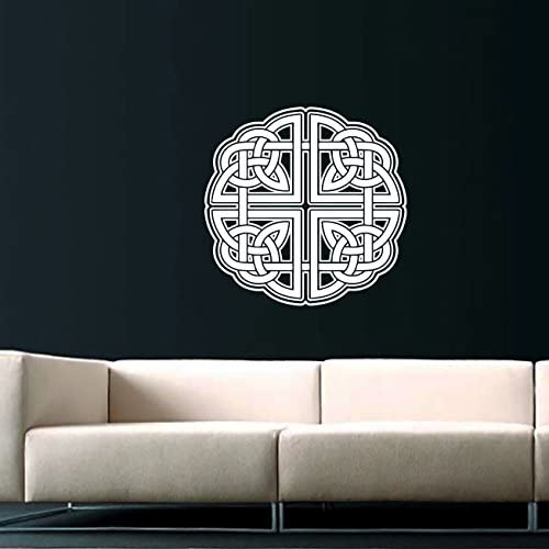 Celtic Knot Wall Decal Celtic Knot Decals Wall Vinyl Sticker Home Interior Wall Decor For Any Room Housewares Mural Design Graphic Bedroom Wall Decal Bathroom 5969 Amazon Com