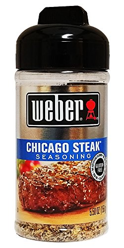 Weber Chicago Steak Seasoning 5.5 Oz (1 Pack) - Food Seasoning