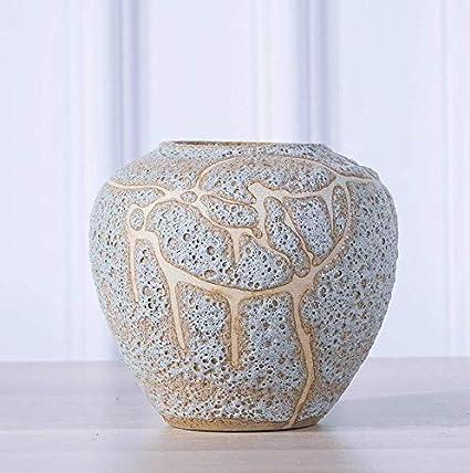 Amazon Zzsiccc Ceramic Vases Floral Ceramic Jar Bold Antique