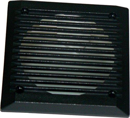 Coppia griglie quadrate colore NERO per altoparlanti di diametro 130 mm. Disponibili anche di colore GRIGIO. Card Italia srl