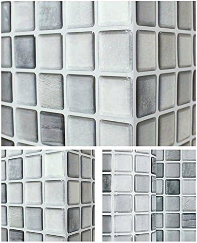 Casa Baño Cocina Pared Decoración 3d pegatina Wallpaper Azulejo Mono Crome Mueble
