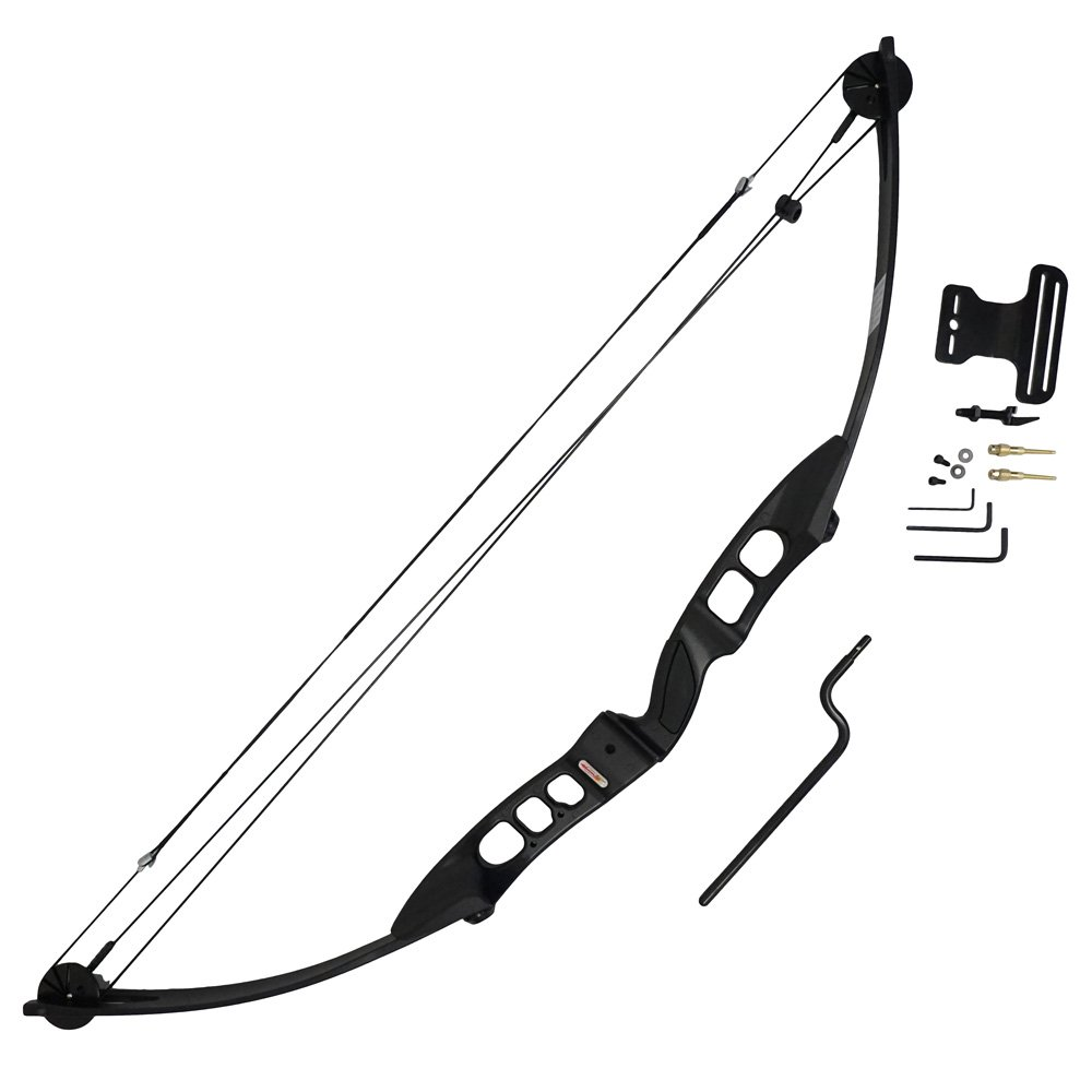 Scuba Choice Archery Black Adult 55lb Compound Bow Right Hand Package
