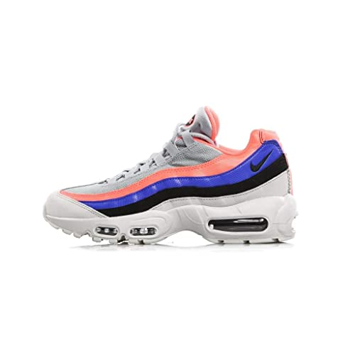 on sale f0bb7 70921 Nike Men s Air Max 95 Essential Low-Top Sneakers, Multicolour (Pure Platinum