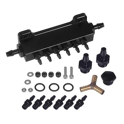 ADD Universal Vacuum Manifold turbo boost vacuum wastegate intake manifold