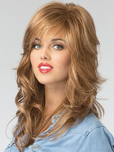 Blonde Lush Layers Wig (Rene of Paris Wigs : Felicity (#2353) (Vanilla Lush))