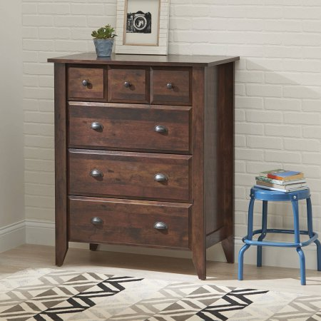 Leighton 4 Drawer Chest, Rustic Cherry Finish from Better Homes & Gardens