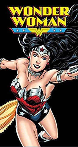 "Wonder Woman Flight Beach Towel 100% Cotton 30"" x 60"""