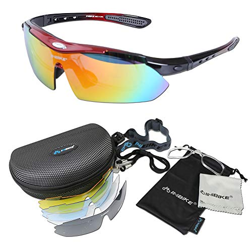 7b8404a10ed0 Polarized Running Driving Fishing Golf Baseball Sports Sunglasses Full Set