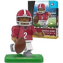 NCAA Alabama Crimson Tide Derrick Henry Gen 2 Player Mini Figure, Small, Black