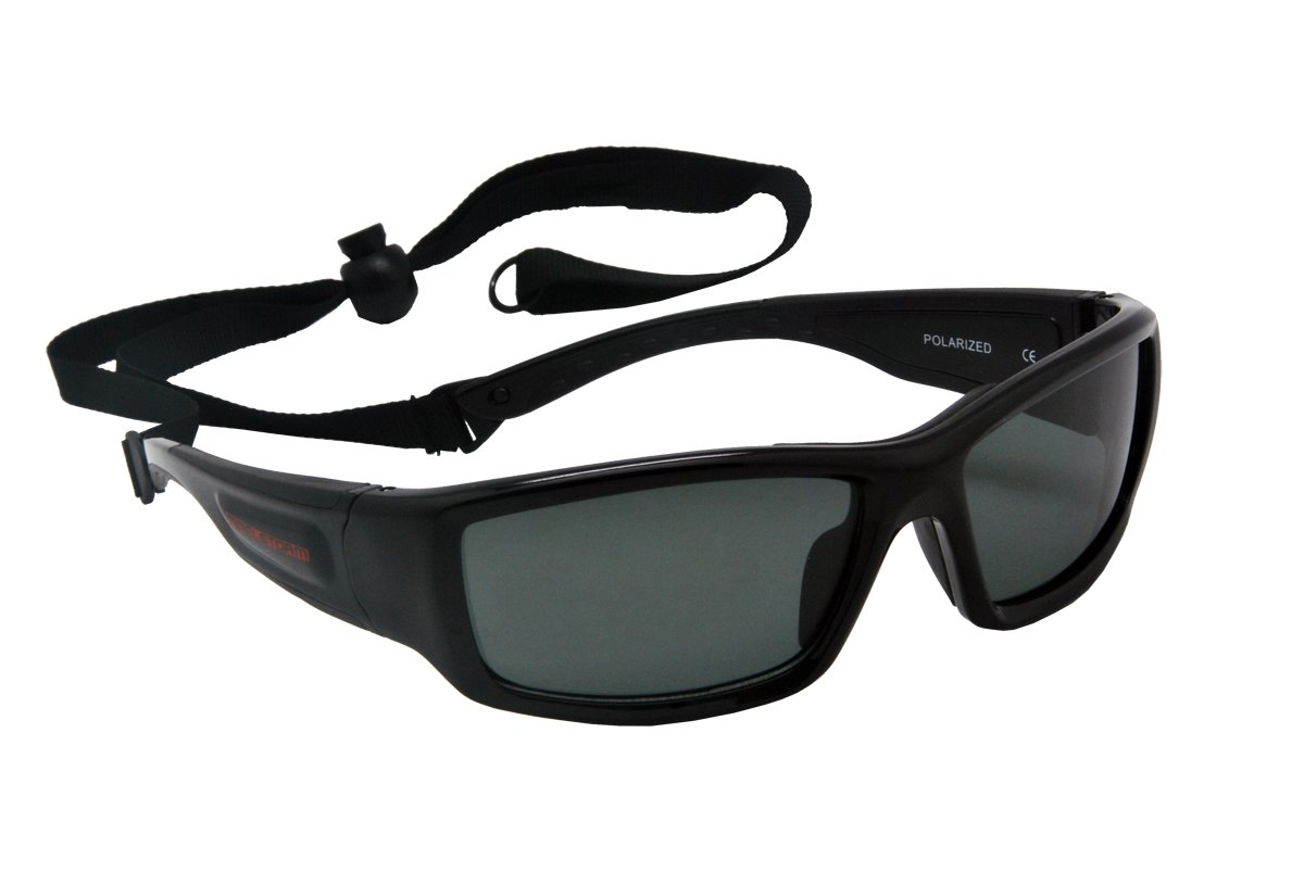 1b6a1ca74e2 Maelstorm Horizon Glossy Black Watersport Sunglasses Kitesurfing Surfing  Jet Skiing Boating Paddling Fishing Canoeing Kayaking Windsurfing Driving  Cycling ...