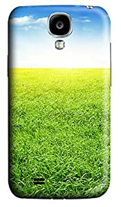 Samsung Galaxy S4 I9500 Cases & Covers - The Brilliant Green Grass 2 PC Custom Soft Case Cover Protector for Samsung Galaxy S4 I9500