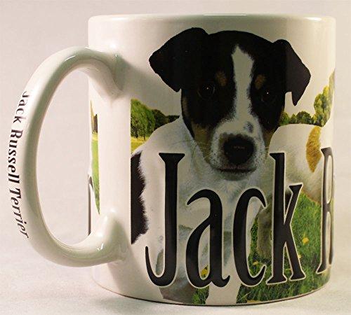 Russell Ceramic Mug (Jack Russell Terrier - 18 Oz. Coffee)