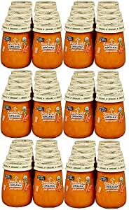 Beech-Nut Organic Stage 1 Just Carrots Baby Food, 4 25 oz, (10 Count) (Pack  of 6)