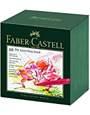 Faber-Castell Pitt Artist Pen Gift Box of 60 Colours