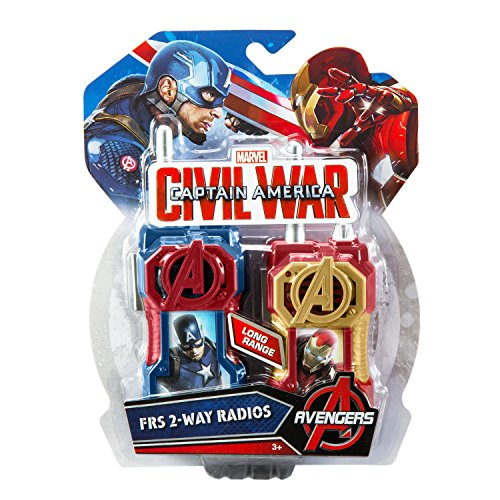 Captain America FRS Walkie Talkies Playset