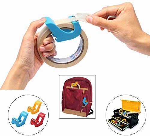 Masking Tape Dispenser(2 pcs) Portable Tape Gun, Revolutionary Desktop Tape Dispenser, 1