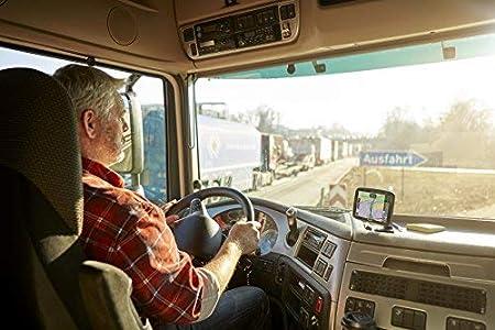 Trafic 1 an 6 Pouces TomTom GO Professional 6200 Cartographie Europe 48 /à Vie - GPS Poids Lourds via Carte SIM Incluse
