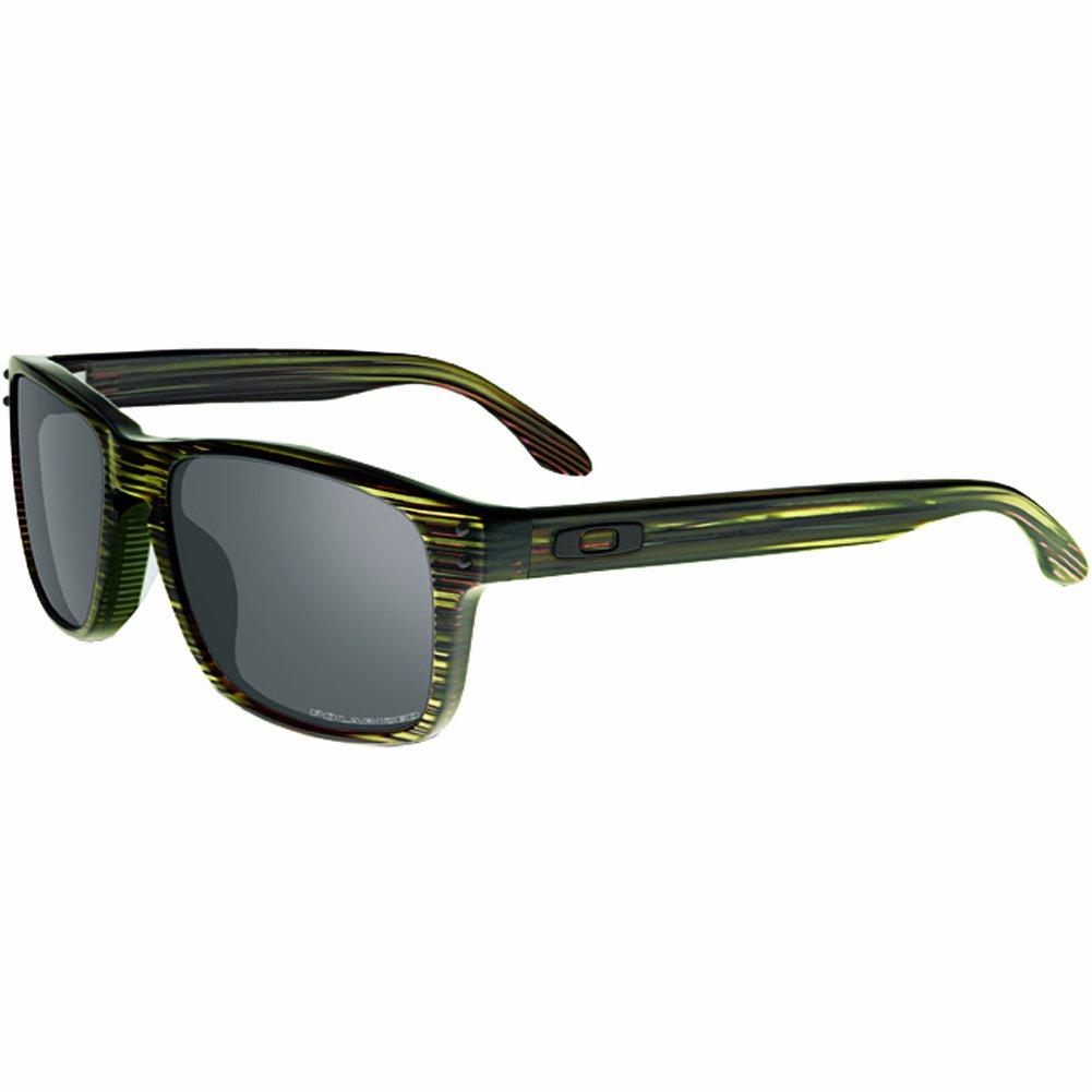 Oakley Men's Holbrook Square Eyeglasses,Banded Green,56 mm