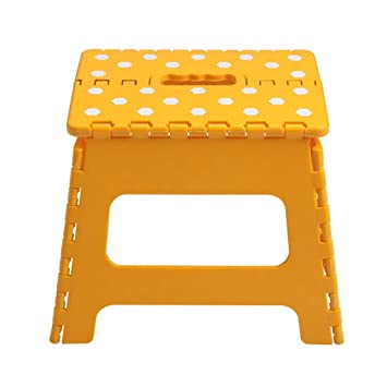 Fabulous Amazon Com Fs Folding Step Stool 27Cm Height Premium Ncnpc Chair Design For Home Ncnpcorg