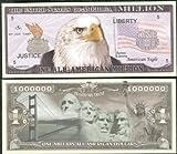 Eagle All-American Golden Gate Bridge, Mt Rushmore, Liberty Bill- Lot of 100