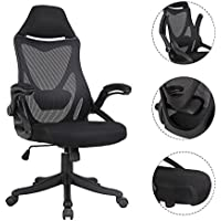 Racing Mesh Task Chair Breathable Office Chair Adjustable Swivel Chair with Plastic Base for Office Dorm