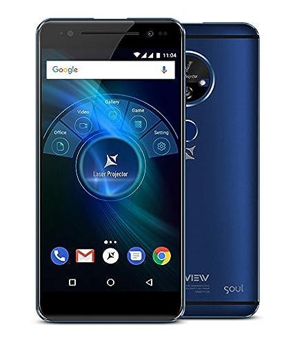 X4 Soul Vision - Smartphone 4G Dual SIM con proyector láser ...