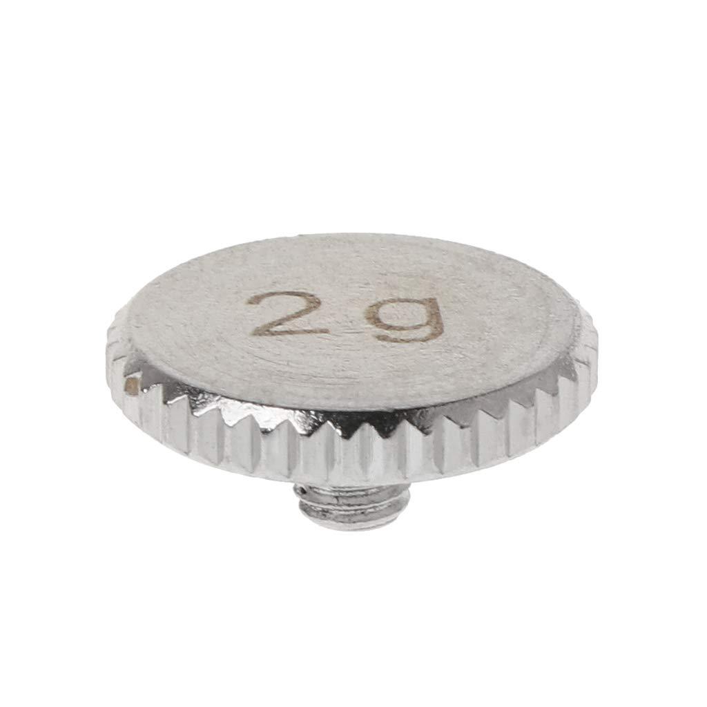 ヘッドシェル 4g 2g シェルウェイト ターンテーブル メタル エレクトリック 楽器 部品 SL1200 MK 2 3 5用 As picture shown Tebatu  2# B07QR58MDG