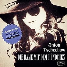 Die Dame mit dem Hündchen Hörbuch von Anton Tschechow Gesprochen von: Jonas Hartmann