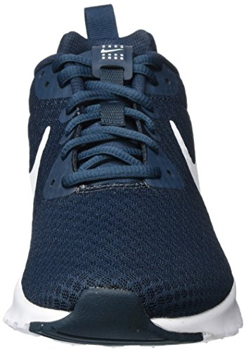 Nike Men's Air Max Motion Lw Trainers, Bianco,Naranjafluo Blue (Armory Navy/White)