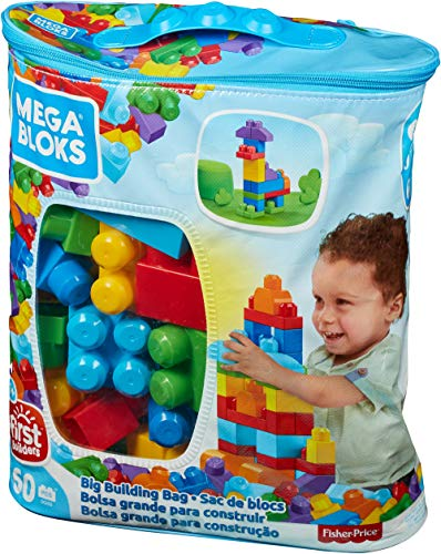 Mega Bloks Big Building Bag, 60-Piece (Classic)
