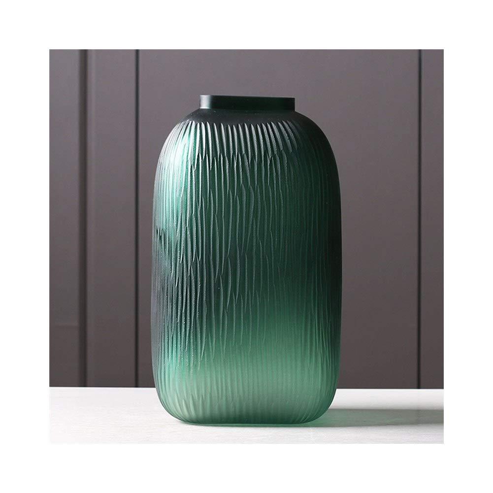 ガラス花瓶装飾モデルルームクリエイティブリビングルームダイニングルームホームデコレーション (Edition : B) B07T3JV9GC  B