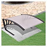 """HomyDelight Lawn Mower Accessory, Garage Roof for Robot Lawn Mower 30""""x41""""x18"""""""