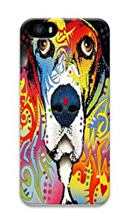 basset hound 02 Custom iPhone 5s/5 Case Cover Polycarbonate 3D