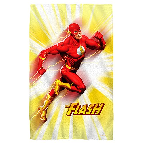 """Wholesale Justice League Motion Blur - The Flash Beach Towel (36"""" x 58"""") free shipping"""