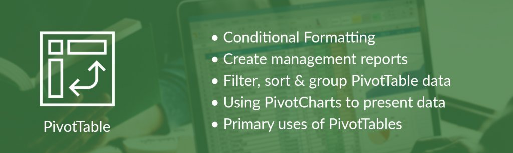 PivotTable by Excel with Business