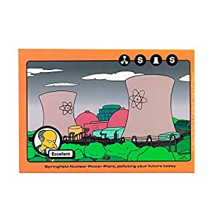 Amazon Com Sticker The Simpsons Springfield Nuclear