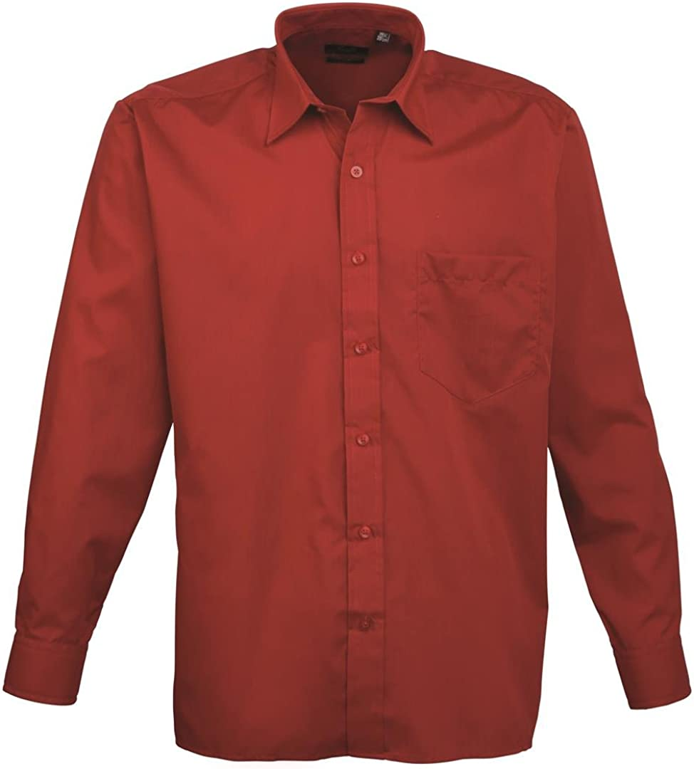 Royal Colour New Premier Poplin Long Sleeve Shirt PR200