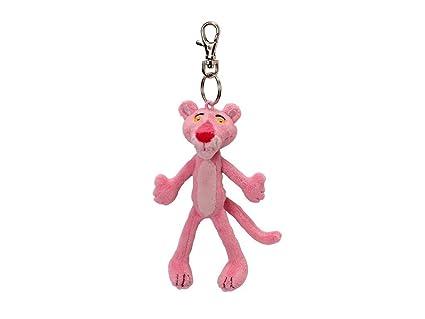 Amazon.com: Jemini - Pink Panther Plush Keychain 12 cm: Toys ...