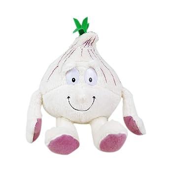 Greetuny 1pcs Verduras y Frutas Peluche Lindo Infantil Peluche Bebe Creativo Juguete Suave Relleno Muñecas Regalo (La Cebolla)