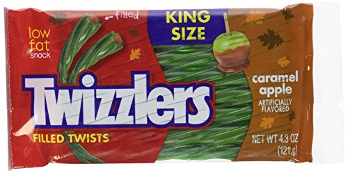 Twizzlers Caramel Apple Filled Twists, 4.3 Oz (Pack of 3)