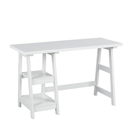 fitathome de madera mesa de ordenador estación de trabajo Estudio ...