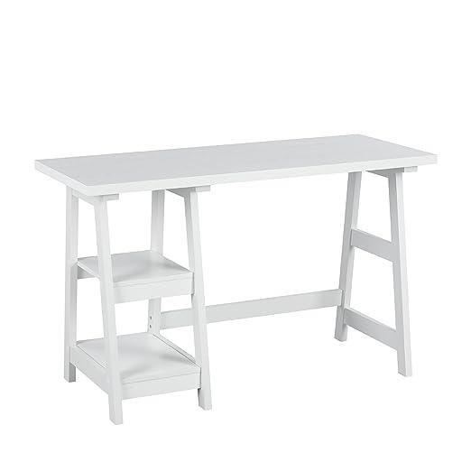 Mesa de escritorio sencilla y estilosa, para ahorrar espacio en el ...
