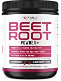 Havasu Nutrition Beet Root Powder with Patented, Organic PeakO2 & Mushroom Blend - Supports Fast Workout Recovery & Promotes Athletic Endurance, No Sugar, Non-GMO, 9.38 oz oz