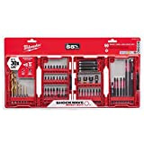 Milwaukee 48-32-4015 Shockwave Impact Duty Drill and Driver Bits Set (60-Piece)