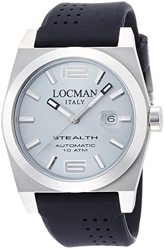 LOCMAN watch stealth automatic mechanical self-winding Men's 0205 020500AGFNK0SIK Men's [regular imported goods]