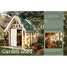 The Family Handyman Project Plans (Digital Download): The Garden Shed Plan (8'x14')