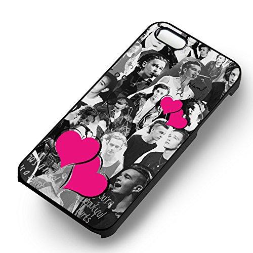 Matt Healy pour Coque Iphone 6 et Coque Iphone 6s Case (Noir Boîtier en plastique dur) N8Q4FP