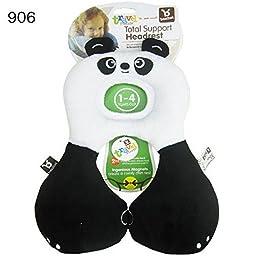 Baby Headrest Benbat Head Neck Support Safety Pillow Car Seat Stroller Travel Ne Panda 1-4 year