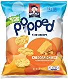 quaker cheese - Quaker Popped Rice Crisp Snacks, Gluten Free, Cheddar Cheese, 6.06oz Bags (Pack of 6 Bags)