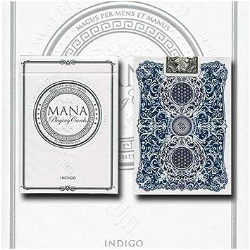 Asdetrebol Magia - Baraja mana (indigo) by erik mana: Amazon.es: Juguetes y juegos